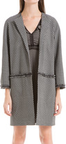 Max Studio Geo Jacquard Car Coat