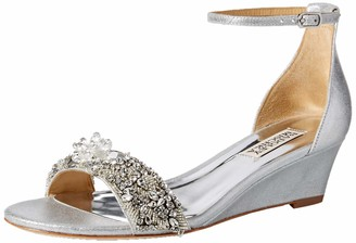Badgley Mischka Women's Fiery Wedge Sandal