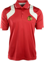 Antigua Men's Short-Sleeve Chicago Blackhawks Fusion Polo