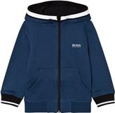 BOSS Petrol Blue Branded Hoodie