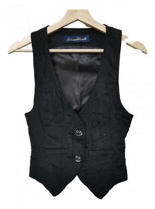 Silvian Heach Black Velvet Jackets