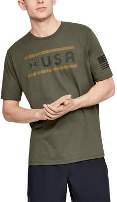 Under Armour Men's UA Freedom USA T-Shirt