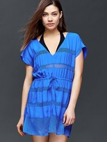 Gap Mix-mesh cover up