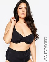 Asos Mix & Match Bikini Top With Underwire