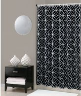 Trina Turk Trellis Shower Curtain in Black