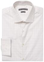 John Varvatos Plaid Slim Fit Dress Shirt