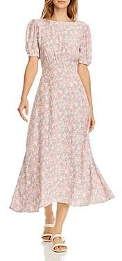 Faithfull The Brand Beline Floral Print Dress