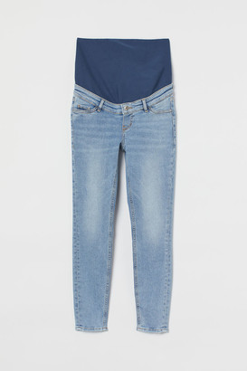 H&M MAMA Embrace Ankle Jeans - Blue