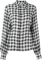 McQ by Alexander McQueen houndstooth print shirt