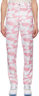 Phlemuns Pink Cloud Trousers