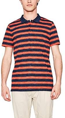 Esprit Men's 067EE2K015 Polo Shirt, Blue (Teal 2 456), X-Large