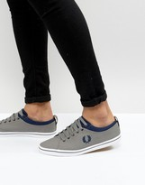 Fred Perry Hallam Twill Trainers