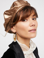 Free People Lolita Leather Beret