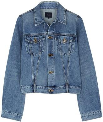 KHAITE Richard Blue Denim Jacket