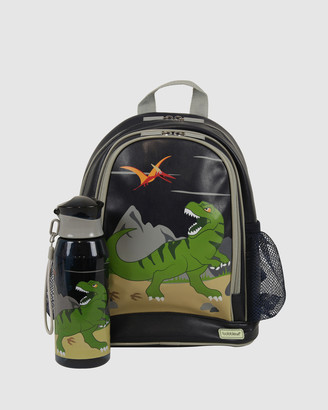 Bobbleart Small Backpack and Drink Bottle Pack Dinosaur