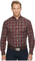 Stetson 1171 Matrix Plaid Men's Long Sleeve Pullover