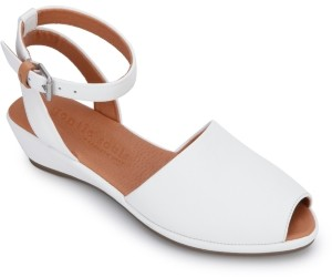 Gentle Souls by Kenneth Cole Women's Lily Ankle-Wrap Wedge Sandals Women's Shoes