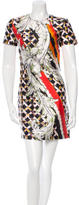 Peter Pilotto Digital Print Silk Dress