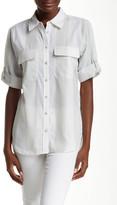 Equipment Short Sleeves Slim Signature Shirt