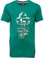 Canterbury of New Zealand Junior Ireland Uglies T-Shirt Bosphorus