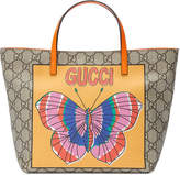 Gucci Kids Children's GG butterfly tote