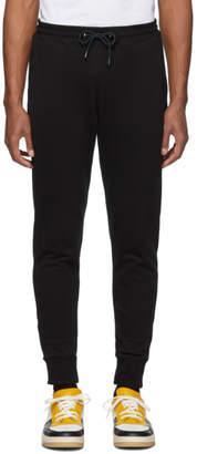 Paul Smith Black Regular Fit Lounge Pants