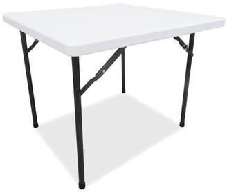 Alera Square Plastic Folding Table, 36w x 36d x 29 1/4h, White -ALEPT36SW