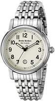 Brooks Brothers Red Fleece Women's SILGJ003 Red Fleece Analog Display Japanese Quartz Silver Watch