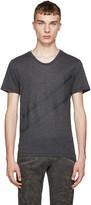 Pierre Balmain Grey Chevron Shirt