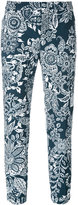 Fay cropped floral trousers - women - Cotton - 40
