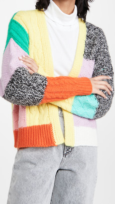 Essentiel Antwerp Zonga Patchwork Cardigan