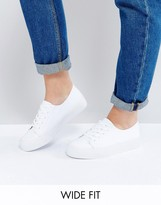 Asos DESTINY Wide Fit Sneakers