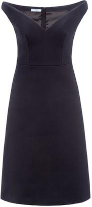 Prada Sweetheart Neckline Flared Skirt Dress