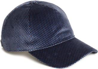 Rag & Bone Printed Cotton-blend Velvet Baseball Cap