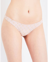 Free People Star stretch-tulle thong