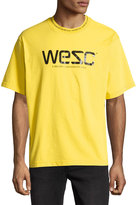 Wesc Mott Short-Sleeve Jersey Tee, Yellow