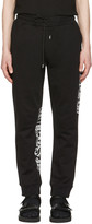 McQ by Alexander McQueen Black Goth Tattoo Lounge Pants
