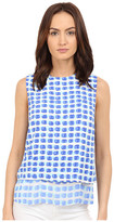 Kate Spade Island Stamp Double Layer Tank Top