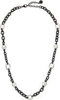Majorica Pearl Mixed-Link Necklace