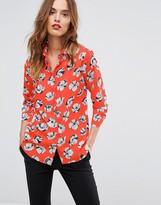 Warehouse Floral Print Shirt