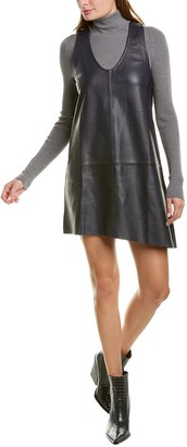 Zadig & Voltaire Room Leather Shift Dress