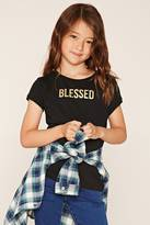 Forever 21 FOREVER 21+ Girls Blessed Tee (Kids)