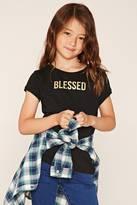 Forever 21 Girls Blessed Tee (Kids)