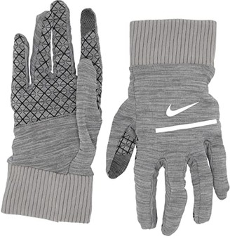 Nike Heathered Sphere Running Gloves 2.0 (Iron Grey Heather/Grey Fog/Silver) Athletic Sports Equipment