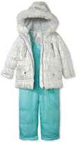 Carter's Little Girls' Two-Piece Jacket and Snow Bib Set