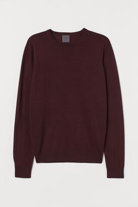 H&M Merino Wool Sweater - Red