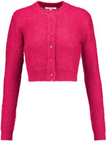 Carven Cropped knitted cardigan