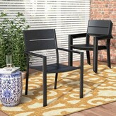 Hillsdale Stacking Patio Dining Chair Rosecliff Heights
