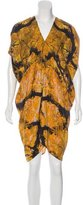 Zero Maria Cornejo Printed Silk Dress