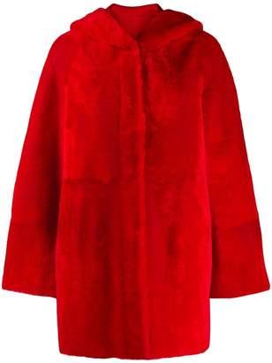 Drome reversible faux fur coat